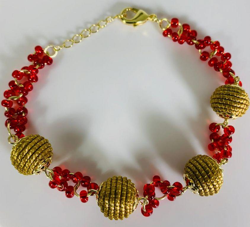 ELORANE – Bracelet – rouge